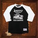 JOHHNY × Champion 3/4 Sleeve Tee 【CHOPPER】