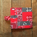 旧モデルSALE!US Bandana Patchwork iPhone6/6s Case, Red