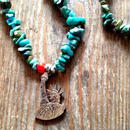 Turquoise Necklace + State Of Liberty