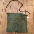 Red Cross Bag upcycled from US Military Tent, Make Love Not War