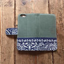 旧モデルサンプルSALE!!Bandanna x O.D. Green  iPhone6/6s Case, Navy