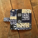 旧モデルSALE!US Bandana Patchwork iPhone6/6s Case, Navy