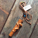 1960's Boy Scouts Neckerchief Slide Necklace