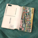 """Pictorial Wonderland of America"" iPhone6/6s Leather Case, ""Portland"""