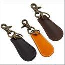 レザー シューホーン 本革 靴ベラ ブラック ブラウン キャメル 10007527