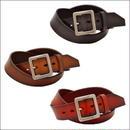 ベルト メンズ レディース 本革 グラデーションベルト バックル付け替え可能 牛革レザーベルト  61063