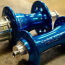 CHRIS KING / R45 Hub Front/Rear Turquoise