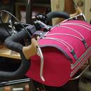 TIM TAS + REK / Racing front bag PINK