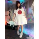 神の日の丸六芒星BIGTシャツ/魔法都市東京×神様ごっこ