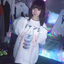 美少女ギャングBIGトレーナー/pauline marx