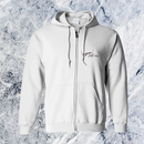 Rakia Zip up parka  -white-