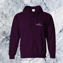 Rakia Zip up parka  -Purple-