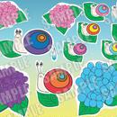 季節限定商品★かたつむりのおめめ(動く仕掛けを作る・演じ方説明楽譜付)パネルシアター作成キット