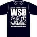 2015 侘寂〜wasabi〜T-shirt BLUE