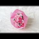 「受注生産」和紙ラウンドブーケ・ピンク (商品番号:bouquet-pro002p)