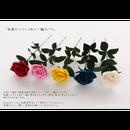 【即日発送可】和紙の花「一輪のバラ」(カラー:5色)