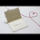 和紙メッセージカード(ブーケ・ボックスフラワーご注文の方限定オプション)