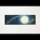 創作デザイン和紙(夜月)(商品番号:as-1511010)