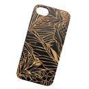 【iPhone X, 7/8, 7/8Plus対応】LĀʻAU iPhone case -Pililani- BLACK