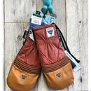 2018-2019 EB'S エビス グローブ HARUSAKI-LEATHER CAMEL/AKACHA Mサイズ