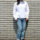 <70-85100>16/1 米綿天竺 CREW NECK TEE  L/SLEEVES(WOMEN)