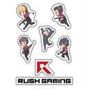 Rush Gaming イラストシールセット CoD:WW2 season ver.