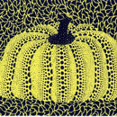 草間彌生 かぼちゃ黄色  リトグラフ版画(#41)