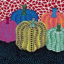 草間彌生 5つのかぼちゃ リトグラフ版画(48)
