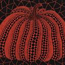 草間彌生 かぼちゃ赤  リトグラフ版画 (61)