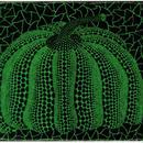 草間彌生 かぼちゃ緑  リトグラフ版画(#52)