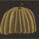 草間彌生 かぼちゃ黄色 リトグラフ版画 (#59)