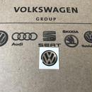 VW 純正 キーエンブレム 12mm