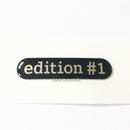 smart 純正 W453 Bピラー edition #1 エンブレム
