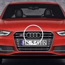 Audi 純正 フロントグリルエンブレム A3 A4 A5