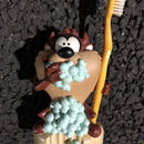 Tasmanian Devil  Toothbrush Stand set