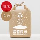 雪番長米 新米 5kg(玄米)