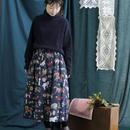 chambre de charme   庄島歩音コラボ メリーゴーランドプリントスカート