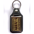 GREATEST BARBER Leather key ring