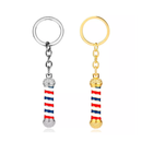 Barber Pole KeyRings