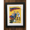 Superman-Barber shop poster