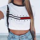 夏新作★ トミーTシャツ トミーへそ出しTシャツ 大人気!お買い得 可愛い★
