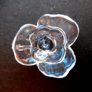 フラワーパーツ・薔薇型
