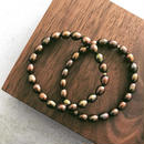 Mix pearl bracelet 【gold beads 】