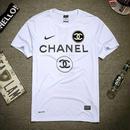 大人気 NIKE CHANEL COCO ナイキ シャネル ココ Tシャツ 半袖 人気新品 男女兼可「74」
