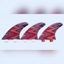 FCS, トライフィン, Mサイズ, ジグザグ赤