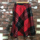 VINTAGE LADIES WOOL SKIRT