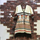 VINTAGE NATIVE KNIT DRESS