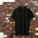 RALPH LAUREN S/S BLACK POLO SHIRT