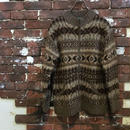 LAUREN NATIVE PATERN ZIP SWETER