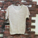 LADIES COTTON S/S KNIT